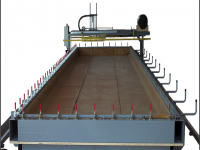 MEMBRANE PRESS (VACUUM) FOR CLT PANEL WITH AUTOMATIC LOADING SYSTEM